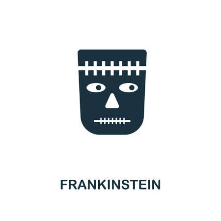 Frankinstein icon. Premium style design from halloween collection. UX and UI. Pixel perfect frankinstein icon. For web design, apps, software, printing usage.