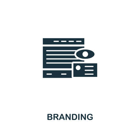 Branding icon. Premium style design from advertising collection. UX and UI. Pixel perfect branding icon for web design, apps, software, printing usage.