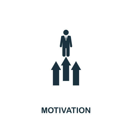 Motivation icon. Premium style design from startup icon collection. UI and UX. Pixel perfect Motivation icon for web design, apps, software, print usage.