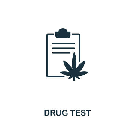 Drug Tests icon. Premium style design from healthcare collection. Pixel perfect drug tests icon for web design, apps, software, printing usage.