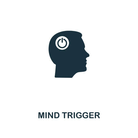 Mind Trigger icon. Premium style design from personality icon collection. Pixel perfect Mind Trigger icon for web design, apps, software, print usage