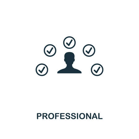 Professional icon. Premium style design from influencer collection. Pixel perfect professional icon for web design, apps, software, printing usage.