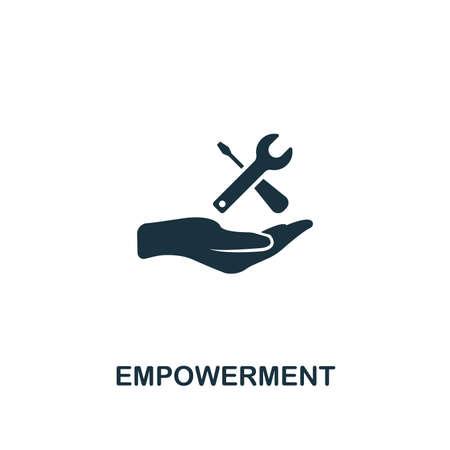 Empowerment icon. Premium style design, pixel perfect empowerment icon for web design, apps, software, printing usage.