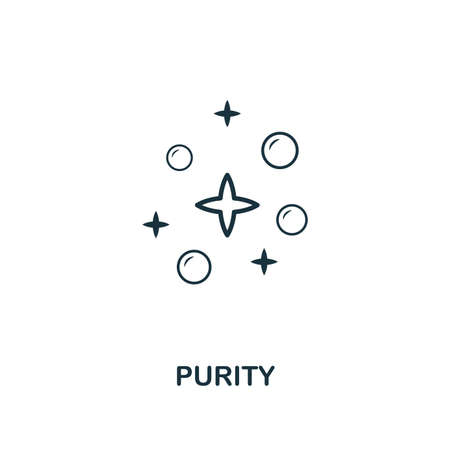 Purity icon. Premium style design from hygiene icons collection. Pixel perfect Purity icon for web design, apps, software, print usage