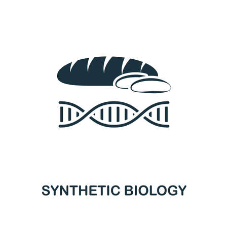 Synthetic Biology icon. Premium style design from future technology icons collection. Pixel perfect Synthetic Biology icon for web design, apps, software, print usage Illustration