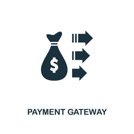 Payment Gateway icon. Creative element design from fintech technology icons collection. Pixel perfect Payment Gateway icon for web design, apps, software, print usage