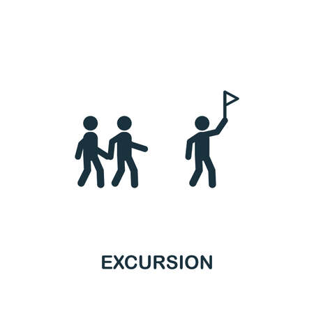 Excursion icon. Creative element design from tourism icons collection. Pixel perfect Excursion icon for web design, apps, software, print usage.