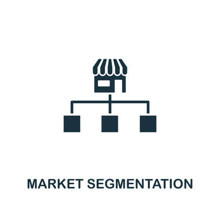 Market Segmentation icon. Creative element design from content icons collection. Pixel perfect Market Segmentation icon for web design, apps, software, print usage.