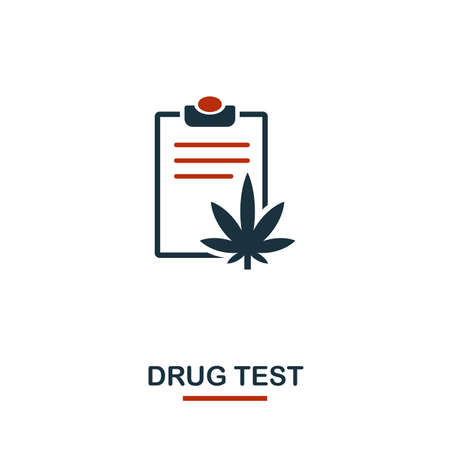 Drug Tests icon. Creative design from healthcare icons collection. Two color Drug Tests icon for web design, apps, software, print usage.