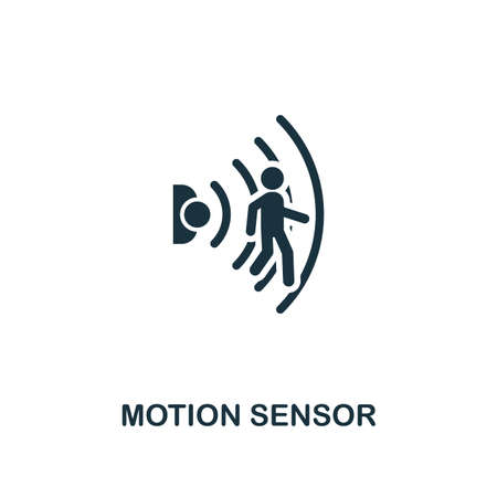 Motion Sensor icon. Creative element design from smart home icons collection. Pixel perfect Motion Sensor icon for web design, apps, software, print usage.