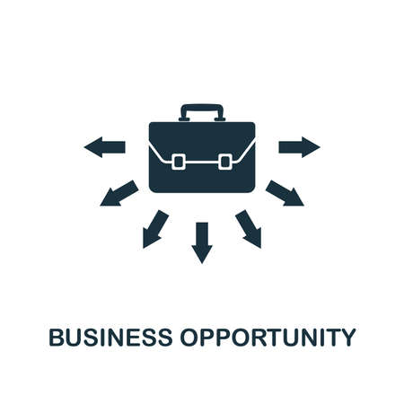 Business Opportunity icon. Creative element design from business strategy icons collection. Pixel perfect Business Opportunity icon for web design, apps, software, print usage.