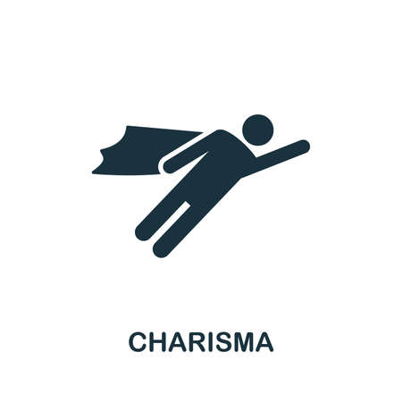 Charisma vector icon illustration. Creative sign from business management icons collection. Filled flat Charisma icon for computer and mobile. Illustration