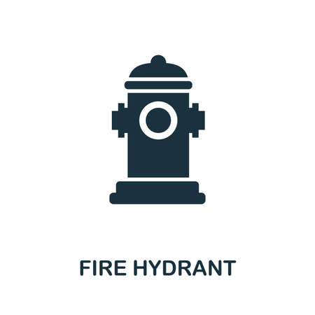 Fire Hydrant icon. Creative element design from fire safety icons collection. Pixel perfect Fire Hydrant icon for web design, apps, software, print usage.