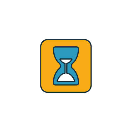 Measure App icon. Outline filled creative elemet from visual device icons collection. Premium measure app icon for ui, ux, apps, software and infographics. Ilustracja