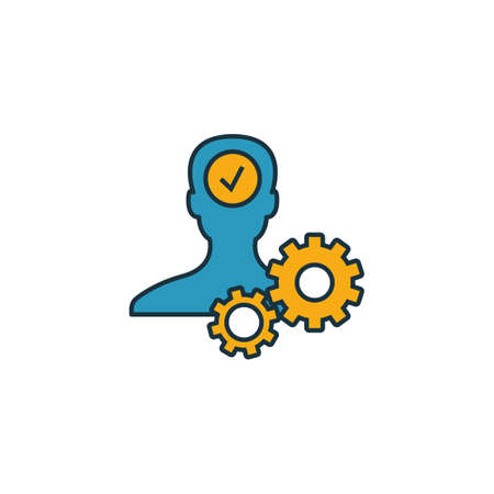 Business Ethics icon. Outline filled creative elemet from business ethics icons collection. Premium business ethics icon for ui, ux, apps, software and infographics.