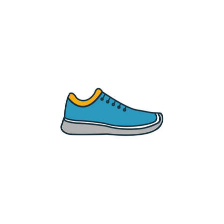 Shoes icon. Pixel perfect element. Premium Shoes icon design from clothes collection. For web, mobile, software, print. Иллюстрация