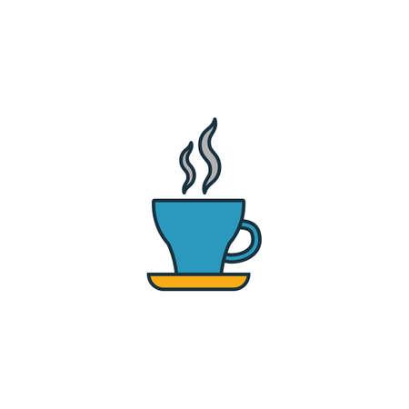 Espresso icon. Thin line symbol design from coffe shop icon collection. UI and UX. Creative simple espresso icon for web and mobile.