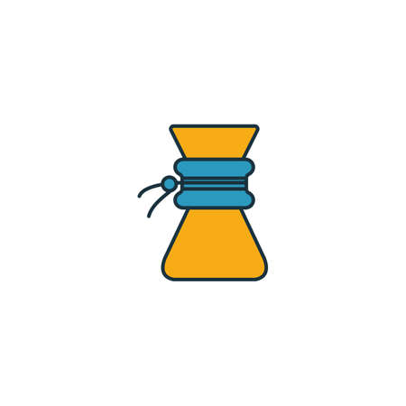 . Thin line symbol design from coffee shop icon collection. UI and UX. Creative simple  icon for web and mobile.  イラスト・ベクター素材