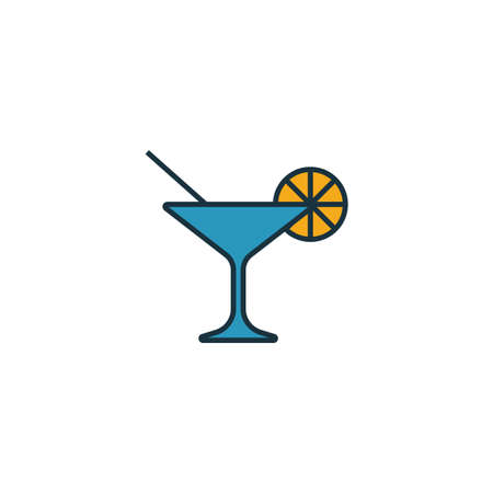 Cocktail icon. Simple element from party icon icons collection. Creative Cocktail icon ui, ux, apps, software and infographics.