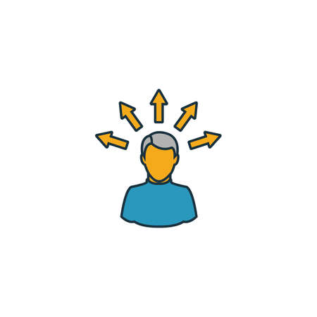 Personal Solution icon. Simple element from project management icons collection. Creative Personal Solution icon ui, ux, apps, software and infographics.