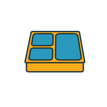 Lunch Box icon. Simple element from school icons collection. Creative Lunch Box icon ui, ux, apps, software and infographics.