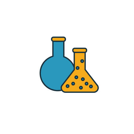 Chemistry icon. Simple element from school icons collection. Creative Chemistry icon ui, ux, apps, software and infographics.