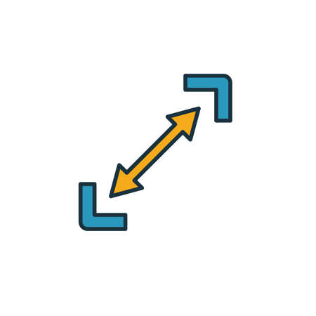 Scalability icon. Simple element from startup icons collection. Creative Scalability icon ui, ux, apps, software and infographics.
