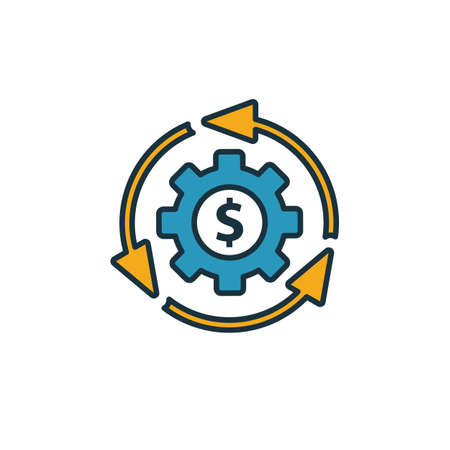 Business Model icon. Simple element from startup icons collection. Creative Business Model icon ui, ux, apps, software and infographics.