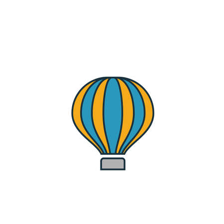 Air Ballon icon. Simple element from transport icons collection. Creative Air Ballon icon ui, ux, apps, software and infographics.