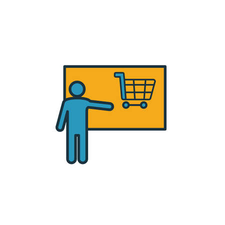 Selling Skills icon. Simple element from soft skills icons collection. Creative Selling Skills icon ui, ux, apps, software and infographics.