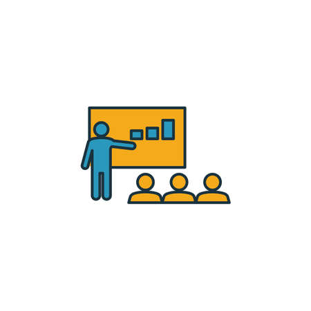 Coaching icon. Simple element from soft skills icons collection. Creative Coaching icon ui, ux, apps, software and infographics.