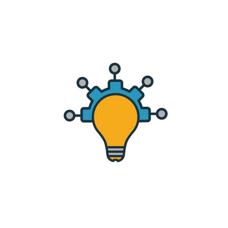 Creativity icon. Simple element from productivity icons collection. Creative Creativity icon ui, ux, apps, software and infographics. Ilustração