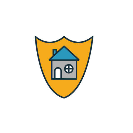 House Security icon. Simple element from security icons collection. Creative House Security icon ui, ux, apps, software and infographics.