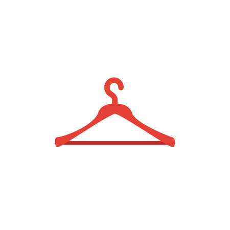 Hanger icon. Simple flat element from clothes collection. Creative hanger icon for templates, software and apps.
