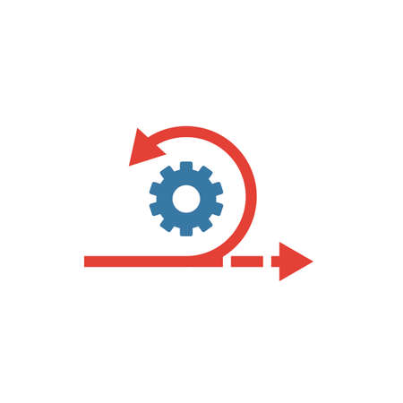 Agile icon. Simple flat element from content collection. Creative agile icon for templates, software and apps.