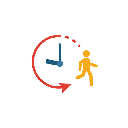 Endurance icon. Simple flat element from fitness collection. Creative endurance icon for templates, software and apps.