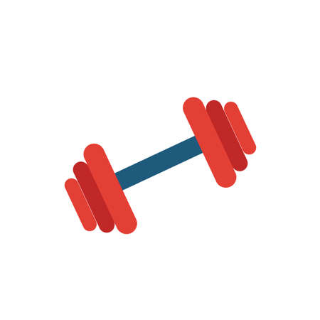 Gym icon. Simple flat element from fitness collection. Creative gym icon for templates, software and apps. Illusztráció