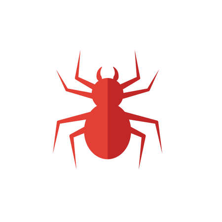 Spider icon. Simple flat element from halloween collection. Creative spider icon for templates, software and apps. Ilustração