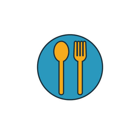 Food Court icon. Simple element from shopping center sign icons collection. Creative Food Court icon ui, ux, apps, software and infographics.