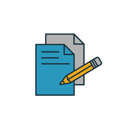 Copywriting icon. Simple element from smm icons collection. Creative Copywriting icon ui, ux, apps, software and infographics.