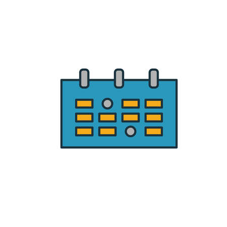Event Calendar icon. Simple element from smm icons collection. Creative Event Calendar icon ui, ux, apps, software and infographics. Çizim