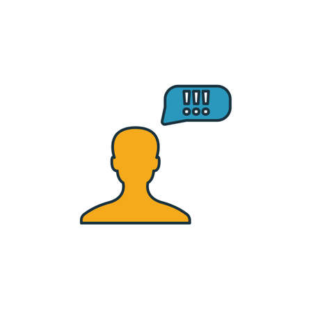 Leader Opinion icon. Simple element from smm icons collection. Creative Leader Opinion icon ui, ux, apps, software and infographics.