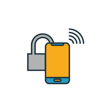 Smart Lock icon. Simple element from smart devices icons collection. Creative Smart Lock icon ui, ux, apps, software and infographics.
