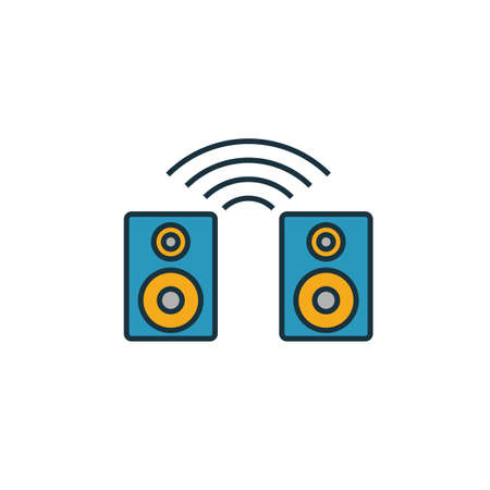 Smart Speaker icon. Simple element from smart devices icons collection. Creative Smart Speaker icon ui, ux, apps, software and infographics.