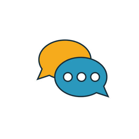Comments icon. Simple element from smm icons collection. Creative Comments icon ui, ux, apps, software and infographics. Çizim