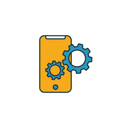 Mobile Friendly icon. Simple element from seo icons collection. Creative Mobile Friendly icon ui, ux, apps, software and infographics.