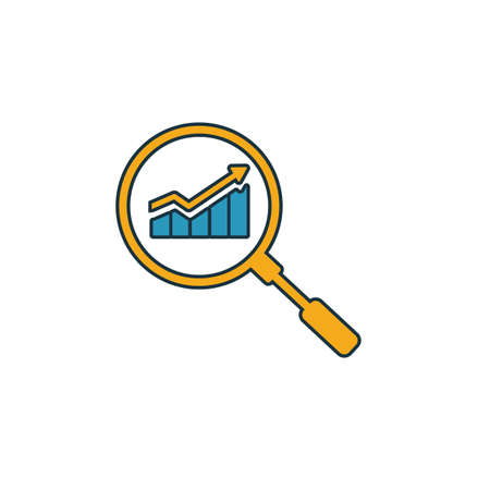 Seo icon. Simple element from seo icons collection. Creative Seo icon ui, ux, apps, software and infographics. Çizim