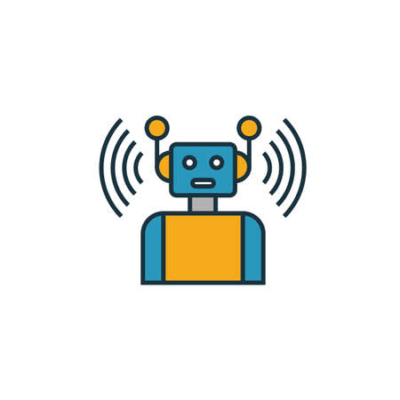 Smart Robot icon. Simple element from smart devices icons collection. Creative Smart Robot icon ui, ux, apps, software and infographics.