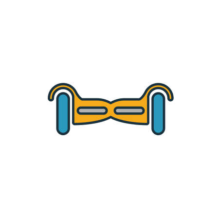 Gyroscooter icon. Simple element from smart devices icons collection. Creative Gyroscooter icon ui, ux, apps, software and infographics.