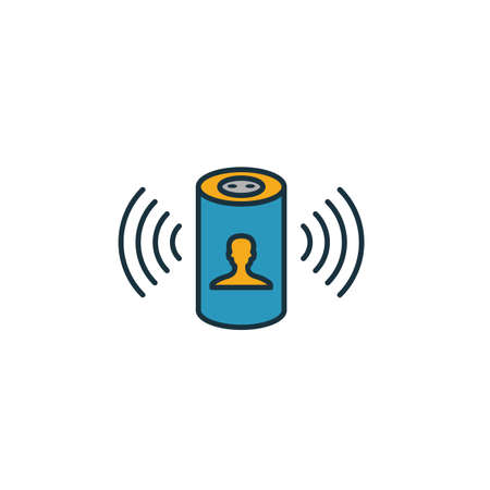 Digital Assistant icon. Simple element from smart home icons collection. Creative Digital Assistant icon ui, ux, apps, software and infographics.